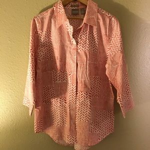 Chico's | Button Down Top